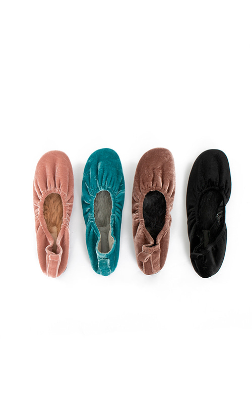 Ballerina Soft Flat Shoes_4 Colors