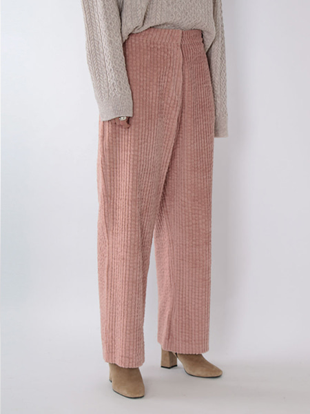 Straight Corduroy Pants_2 Colors