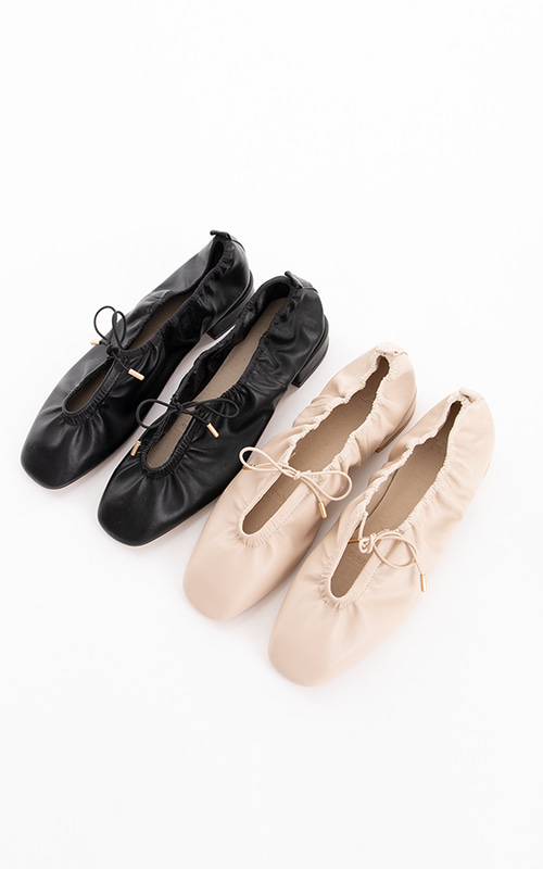 Ballerina Flat Shoes_2 Colors